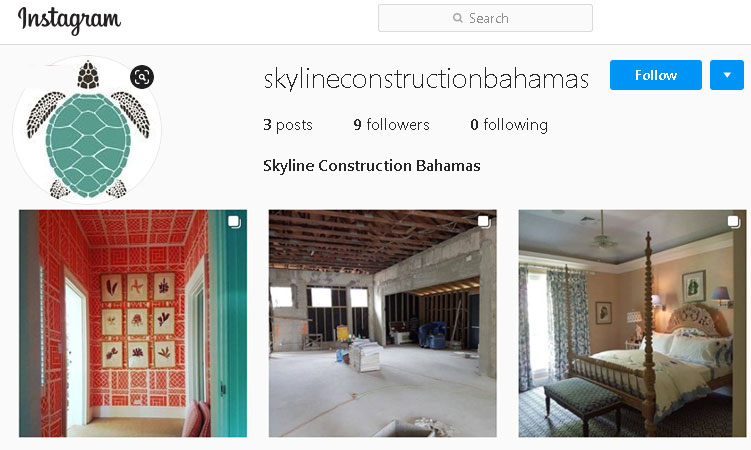 instagram -skyline construction services ltd nassau bahamas